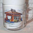 GULF Roaring 20's Clear Glass Coffee Mug