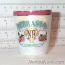 Carnival Glass NEBRASKA Shotglass Cornhusker State Lipco with Gold Foil