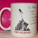 UNITED STATES MARINE CORPS signed MUG Sgt Miller USMC Chattanooga, TN Recruiter