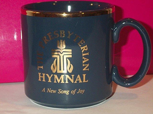 The Presbyterian Hymnal & Publishing House MUG high gloss gold foil coffee tea church