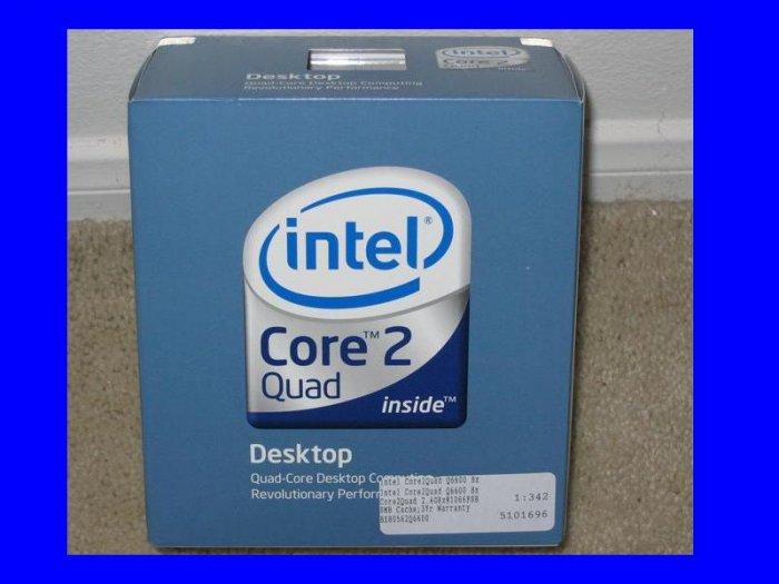 NEW Retail Intel Core 2 DUO E6750 2 x 2.66 Ghz CPU Processor