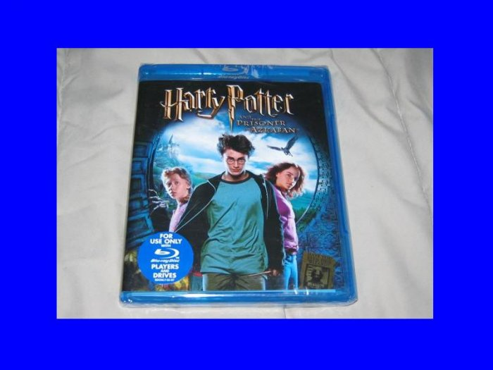 NEW Blu-ray Bluray DVD Harry Potter and the Prisoner of Azkaban