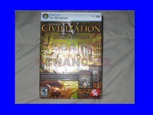 NEW SID MEIER'S CIVILIZATION 4 IV GOLD EDITION PC GAME GAMES Windows 710425311833