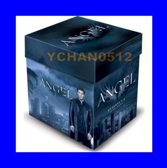 Brand NEW Angel DVD Box SET Complete Series Season 1 2 3 4 5 024543467373