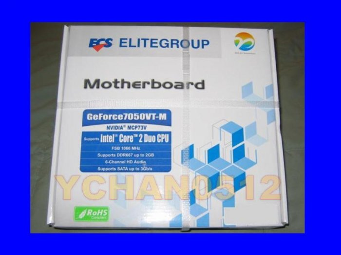 NEW ECS Intel GF7050VT-M Motherboard LGA 775 Socket Dual Core 2 Duo