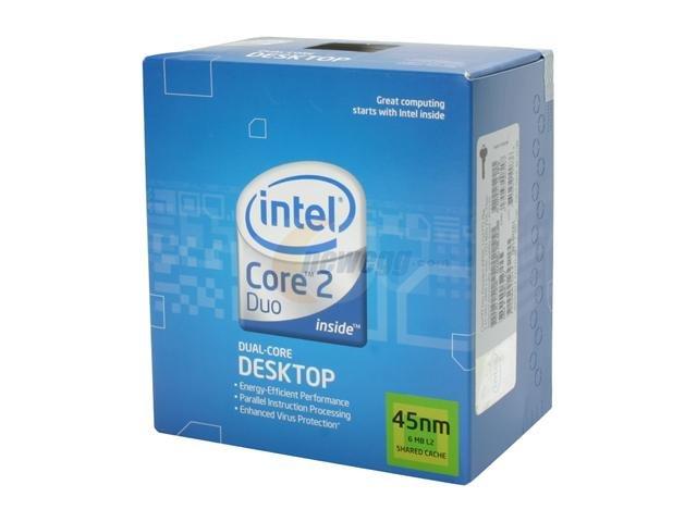 INTEL DUAL CORE 2 DUO E8500 CPU Processor X2 2 x 3.16GHZ FAN LGA 775 HEATSINK FAN