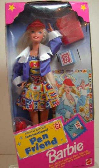 1995 Special Edition INTERNATIONAL PEN FRIEND Barbie Doll NRFB