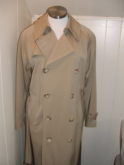 Ralph Lauren BLACK LABEL Wool Trench Coat Size 10
