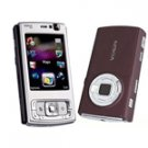 Nokia N95 Nseries (Deep Plum) Mobile Phone