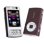Nokia N95 Nseries (Deep Plum) Mobile Phone