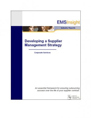 Developing a Supplier Management Strategy