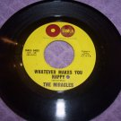The Miracles Mickey's Monkey / Whatever Makes You Happy ORIGINAL Tamla 45