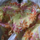 COLDWATER CREEK FLORAL STARBURST JACKET PETITE PM NEW