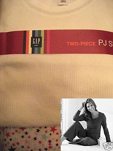 NEW GAP BODY COZY THERMAL PAJAMA PJ LOUNGE SET LOT S