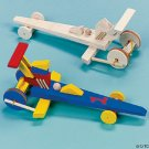 NEW UNFINISHED WOOD RACECAR TOYS MAKE AND PAINT! LOT