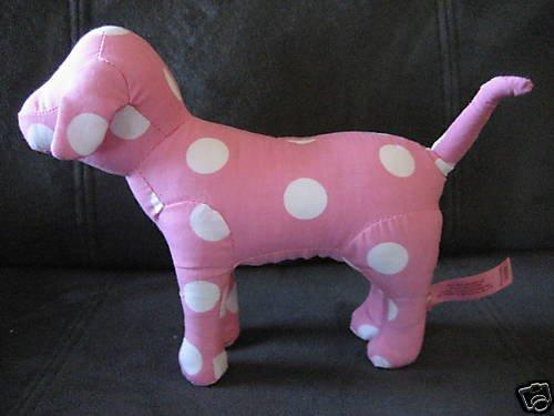 NEW VICTORIA SECRET PINK COLLECTION DOG DOGGIE WHITE