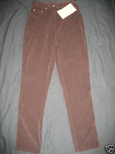 NWT DENIM AND CO TAPERED LEG SLIM SUEDE-FEEL PANTS 6