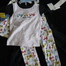 NWT NEW CARTERS VROOM CARS TRUCKS LOT PAJAMAS PJ 3T