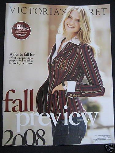 VICTORIA SECRET FALL PREVIEW SALE 2008 SEXY!