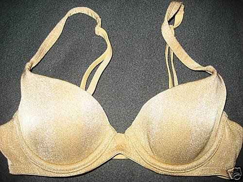 NEW BODY BY VICTORIA SECRET SHAPING DEMI 32A GOLD