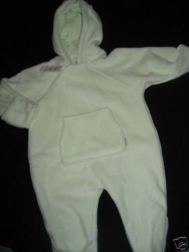 NWT TCP CHILDERNS PLACE WINTER BUNTING COAT 6-9MO GREEN