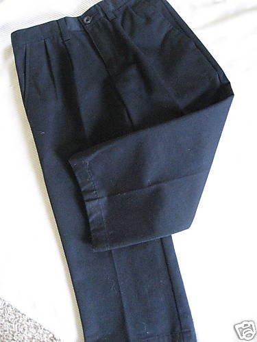 NWT DOCKERS BOY DRESS SCHOOL UNIFORM NAVY BLUE PANTS 4