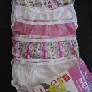 NWT HANES GIRLS BRIEFS PANTIES UNDERWEAR LOT 2T 3T