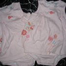 CARTERS CUTE PINK PRETTY SUNSUIT OUTFIT  LOT TWINS 18MO