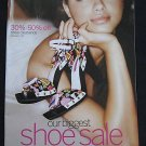 VICTORIA SECRET SEXY SHOE CATALOG 2008 ADRIANA LIMA