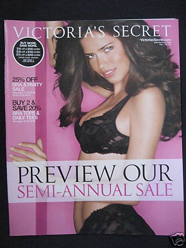 VICTORIA SECRET CATALOG PREVIEW SALE 2006