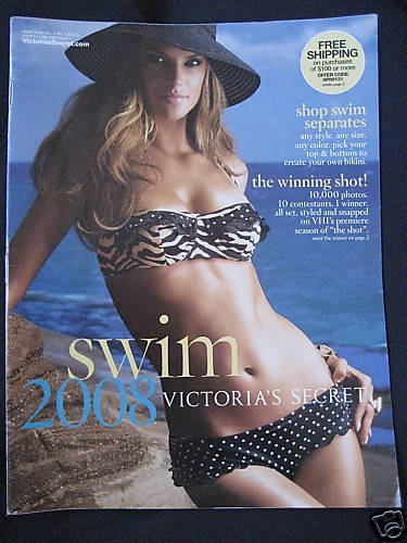 VICTORIA SECRET SWIM 2008 SEXY MODEL CATALOG