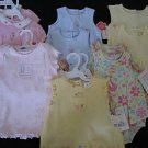 NWT HUGE LOT CARTERS TWIN GIRLS SUNSUIT DRESSES 6 9 MO