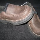 NWT BOYS DRESS/CASUAL SHOES LOAFER LEATHER BROWN 8