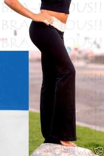 NEW VICTORIA SECRET FIT&FLARE YOGA PANT FOLDOVER XS