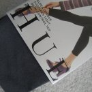 NWT NEW HUE CONTROL TOP SUPER OPAQUE FOOTLESS TIGHTS 2