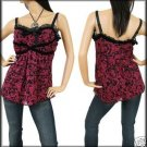 NWT TORRID EMPIRE BABYDOLL CAMI CLEAVAGE TOP 1X 1 14/16