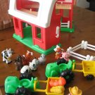 FISHER PRICE LITTLE PEOPLE BARN FARM ANIMALS + EXTRAS!