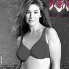 NEW SOMA CHICO BODY UNLINED FULL COVERAGE  BRA 38D BLCK