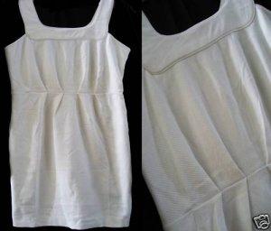NEW BANANA REPUBLIC PLEATED EMPIRE YOKE SHEATH DRESS 0