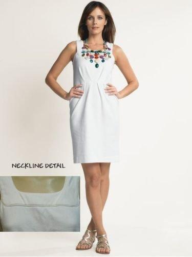 BANANA REPUBLIC CLASSIC PLEAT TEXTURED SHEATH DRESS 12