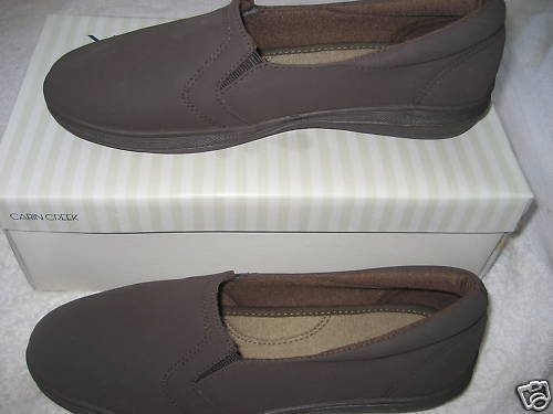 NEW BROWN CHOCOLATE SLIP ON LOAFERS SHOES WOMENS 8