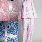NEW PLUS WARM  FLANNEL PJs PAJAMA SET ANIMAL LEOPARD