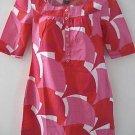 NEW H&M  EMPIRE MOD RETRO TUNIC SHIFT DRESS SEXY PINK