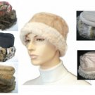 NEW PARKHURST FAUX FUR SHEARLING SHERPA WARM WINTER HAT