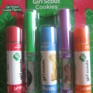 NEW GIRL SCOUT LIP SMACKERS COOKIE LIP BALM and GLOSS