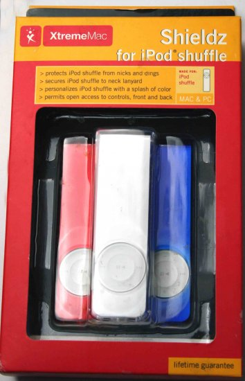 XtremeMac Cover Skin Cases Case for iPod Shuffle