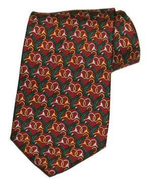 Men's Brooks Brothers Tie Silk Multi-Color