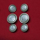 Men's Avignon Blazer Buttons Set Lions Head Replacement Shank