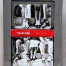 Mens Lambretta Wallet Set Bi-fold and Credit Card Black & White