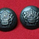 Two Derbyshire Dominion Blazer Jacket Buttons Replacement Shank